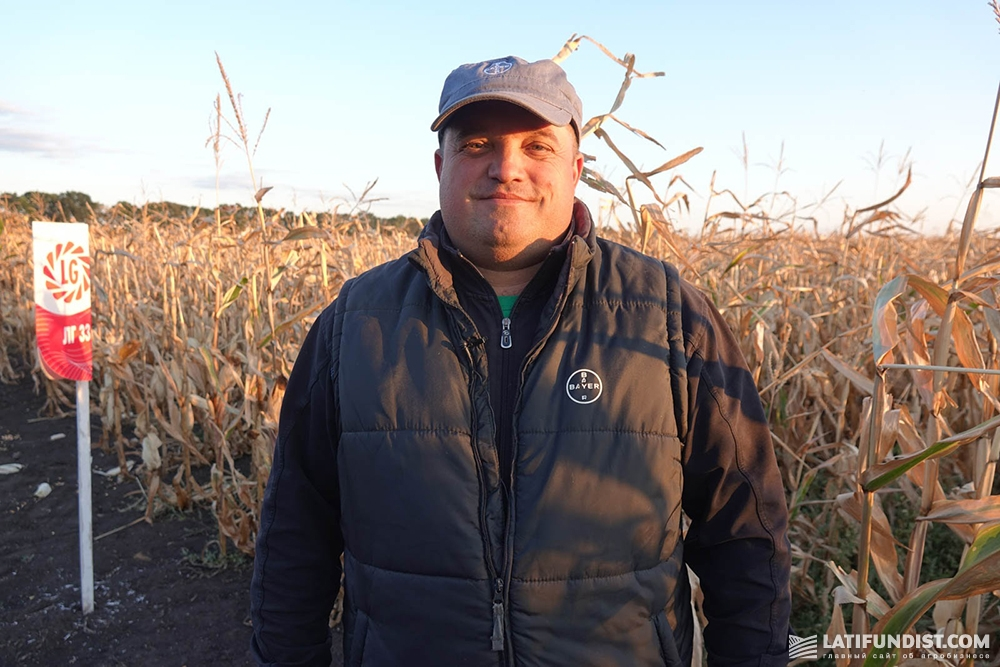 Виталий Полянский, агроном по защите растений «АПК Докучаевские черноземы»