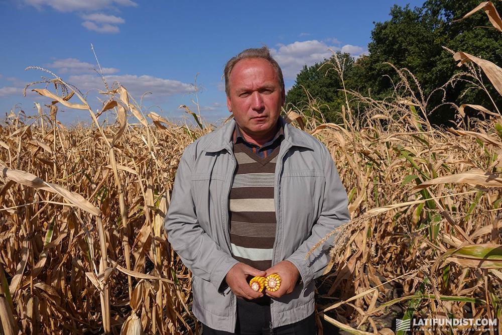 Виктор Пасичниченко, главный агроном предприятия «Орач»