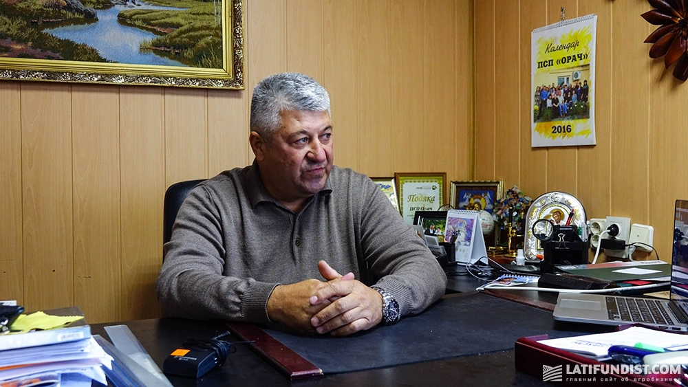 Олег Бегмат, руководитель агропредприятия «Орач»