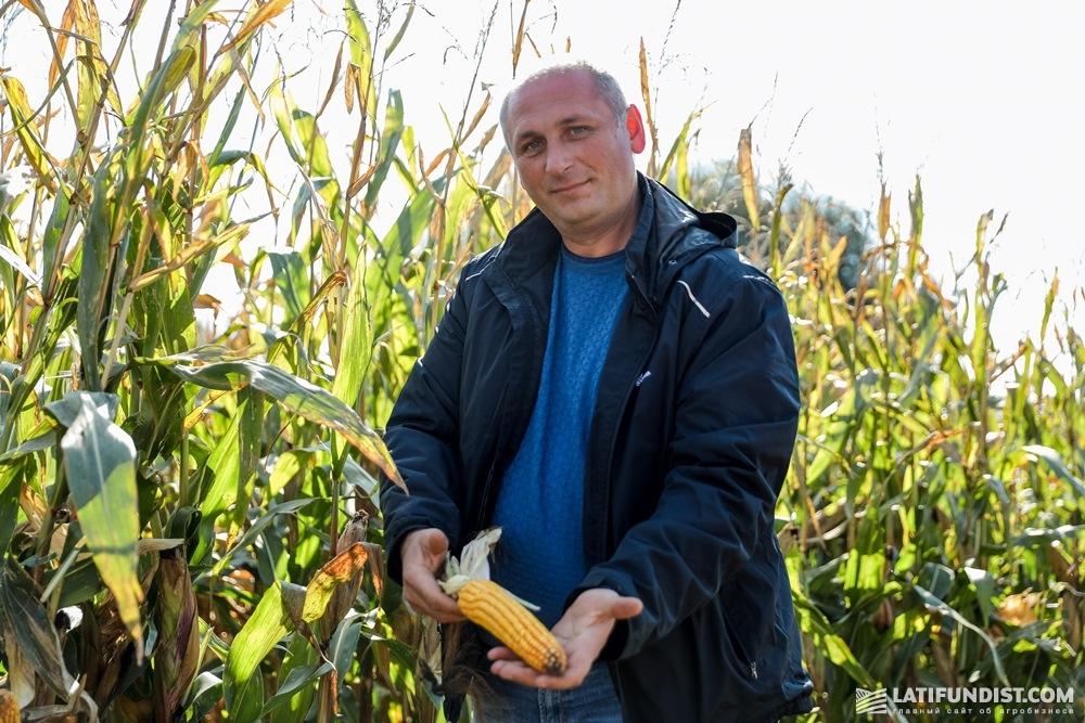 Вячеслав Нескоромюк рассказывает о технологии выращивания кукурузы в «ТАК-Агро»
