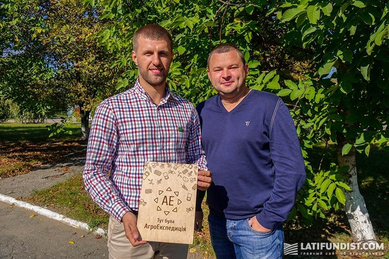 Николай Байбарак и Константин Супрун