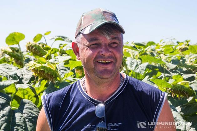 Виктор Виштак, главный агроном «Агро-Дис»