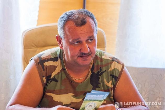 Олег Киреев, директор агропредприятия «Мирное»