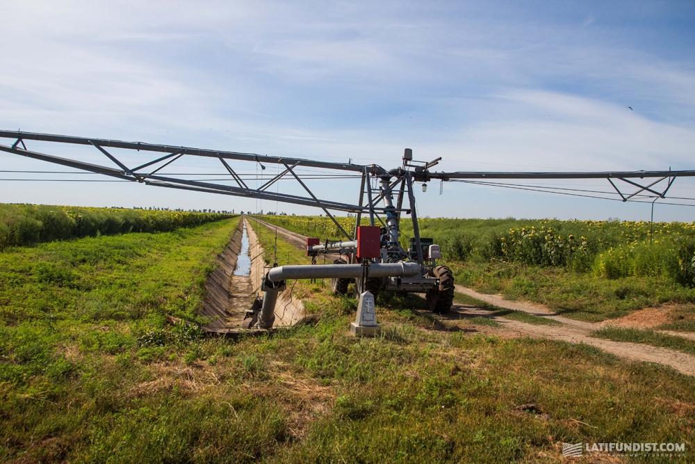 Система орошения агрокомпании «Агро-Дело»