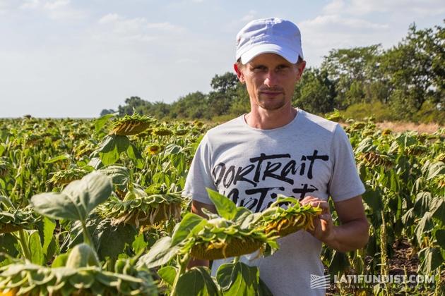Алексей Дмитриев, директор сельхозпредприятия «Злато Таврии»