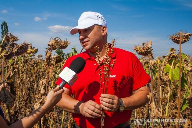 Юрий Святецкий, региональный менеджер BASF по Херсонской области