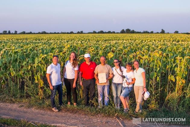 АгроЭкспедиторы в гостях у агропредприятия «Хлебодар»