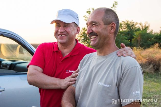 Юрий Святецкий и Дмитрий Онищенко