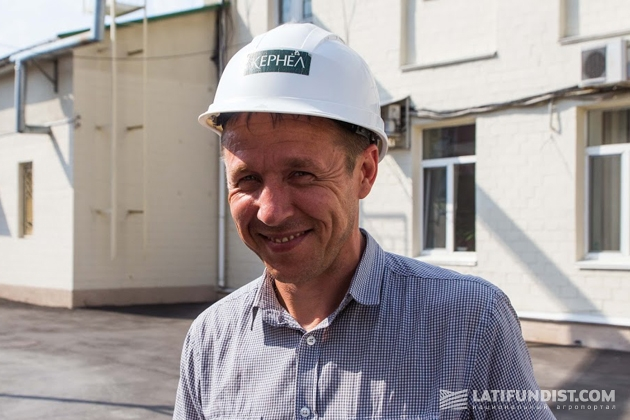 Максим Стрижак, замдиректора  МЭЗ по производству