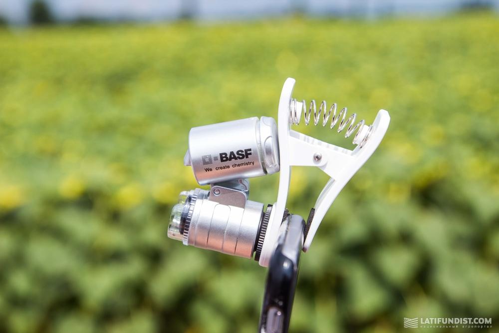 Портативный микроскоп BASF