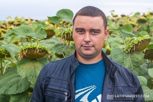 Александр Жила, агроном отделения «Свичковка»