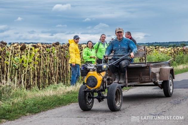 Веселый тракторист