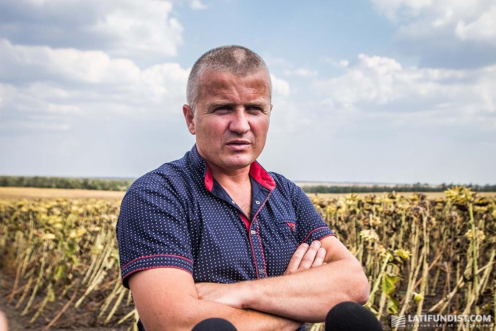 Анатолий Стецюн, директор «40 лет-Агро»