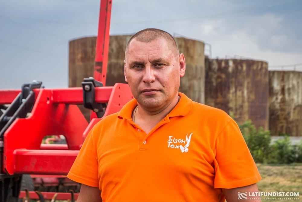 Роман Клиценко, руководитель Куйбышевского регионального подразделения «Бизон-Тех»