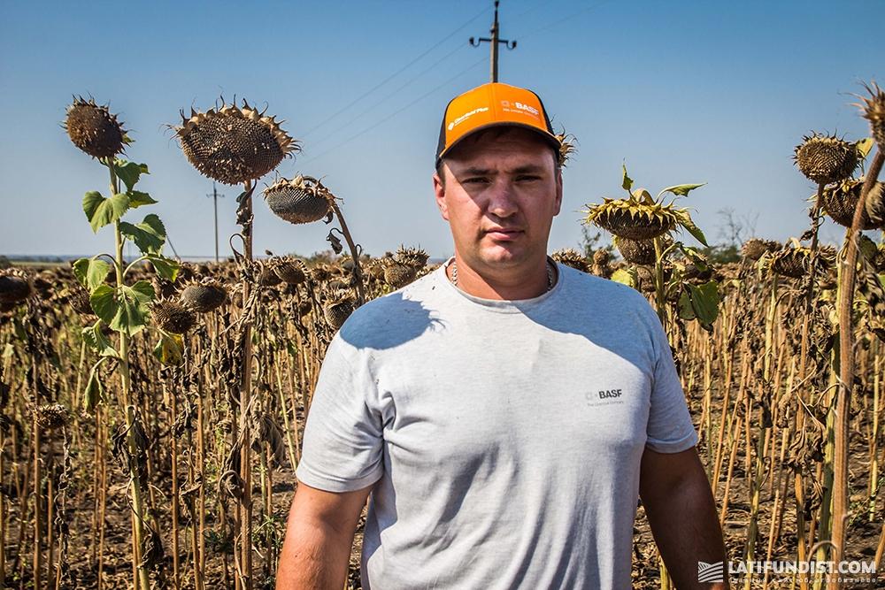 Михаил Петращук, ведущий агроном предприятия «Запорожье-Агро»