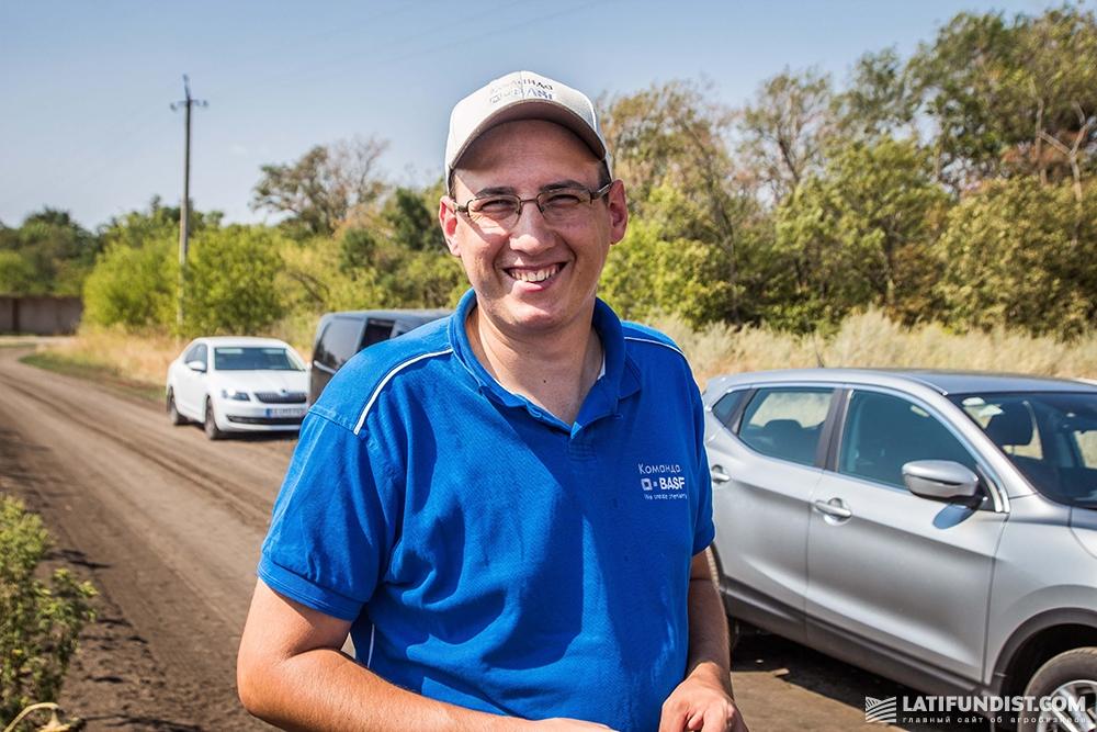 Владимир Занков, менеджер по сбыту в Запорожской области компании BASF