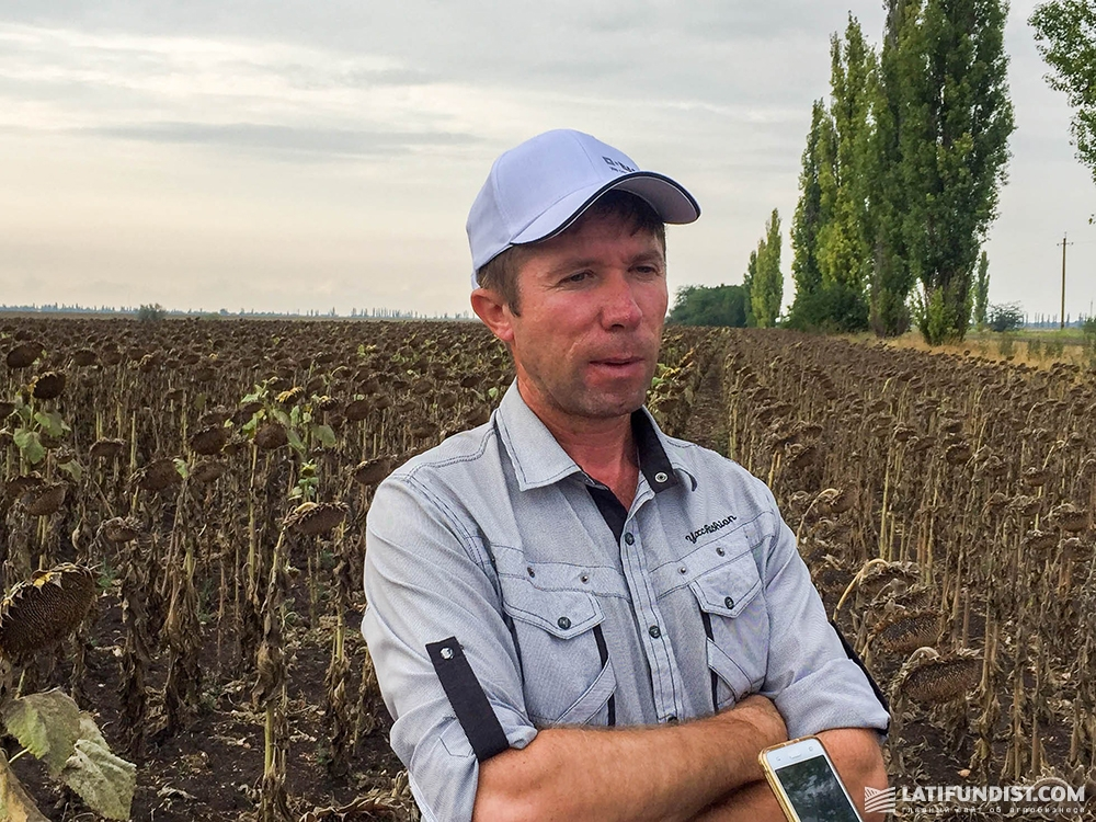 Олег Биднина, главный агроном хозяйства «Орбита»