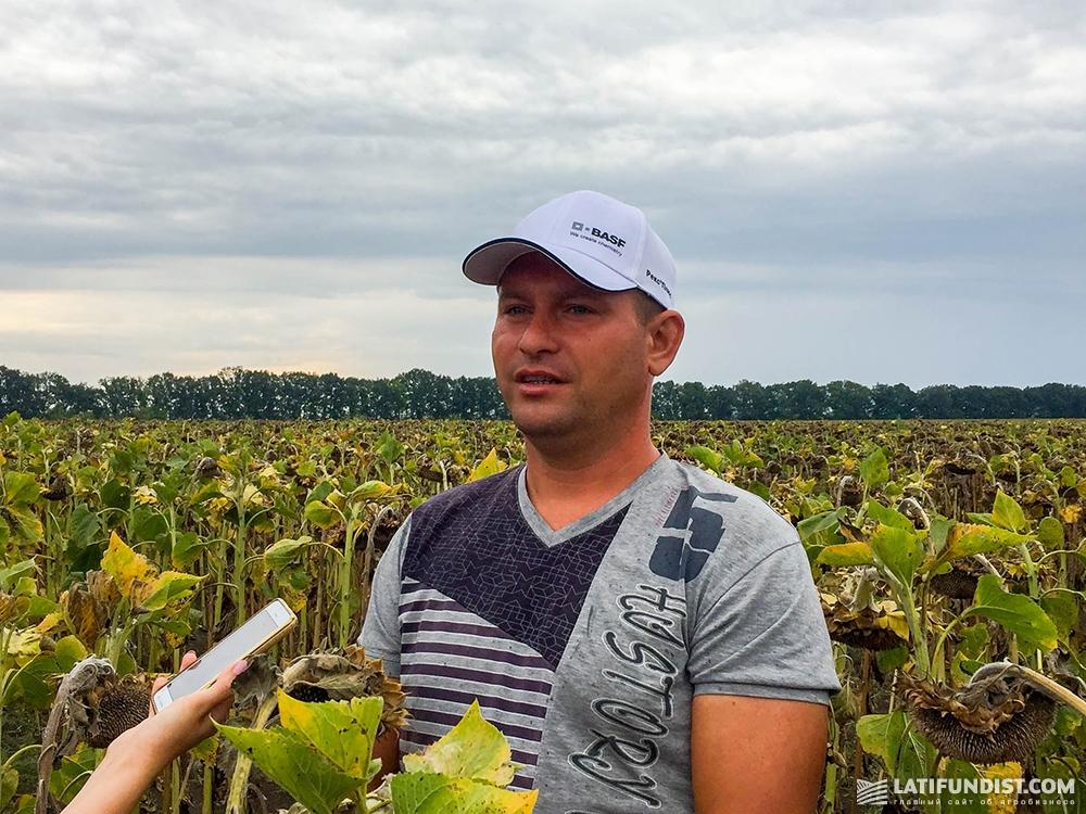 Иван Максимов, агроном «МТД-Основа»