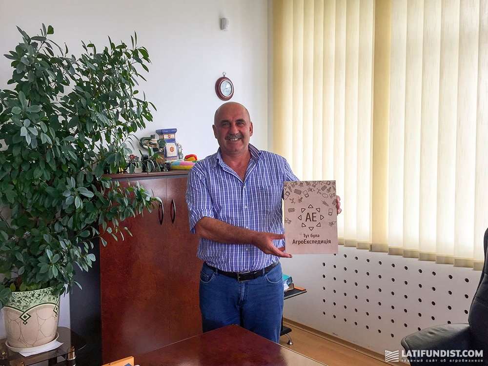 Олег Маляренко, глава фермерского хозяйства «МТД-Основа»