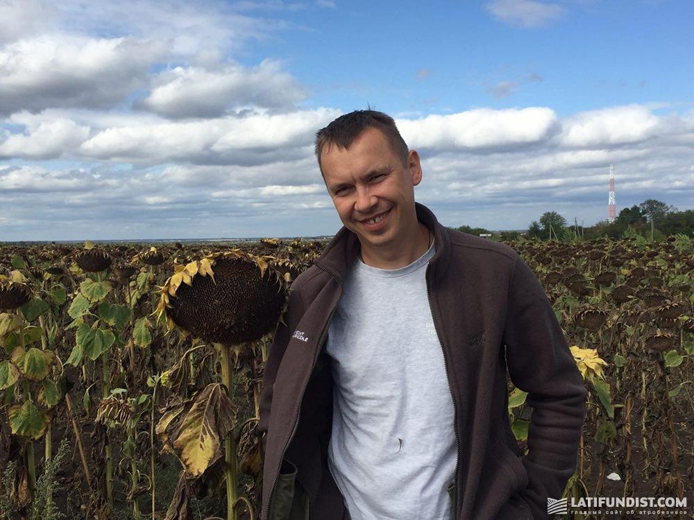 Василий Белозерских, заместитель директора Департамента поддержки агробизнеса Credit Agricole Bank