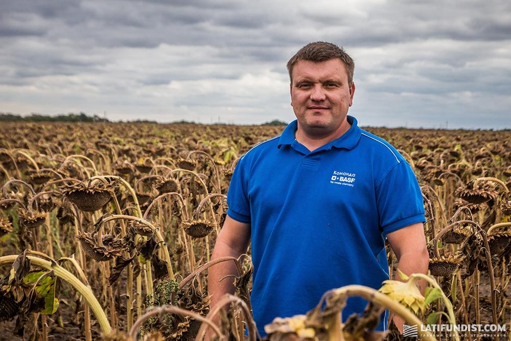 Алексей Бондаренко, региональный менеджер по сбыту в Днепропетровской области BASF