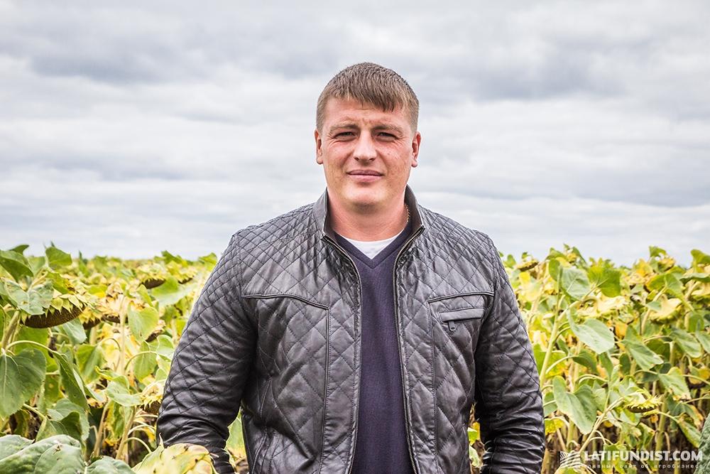Максим Пидбицкий, директор предприятия «Агрофирма Могутне»