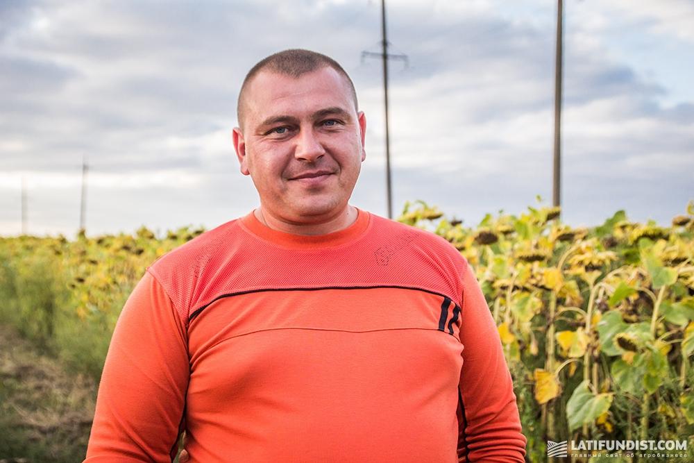 Виталий Тумин, агроном хозяйства «Им. Ульянова»