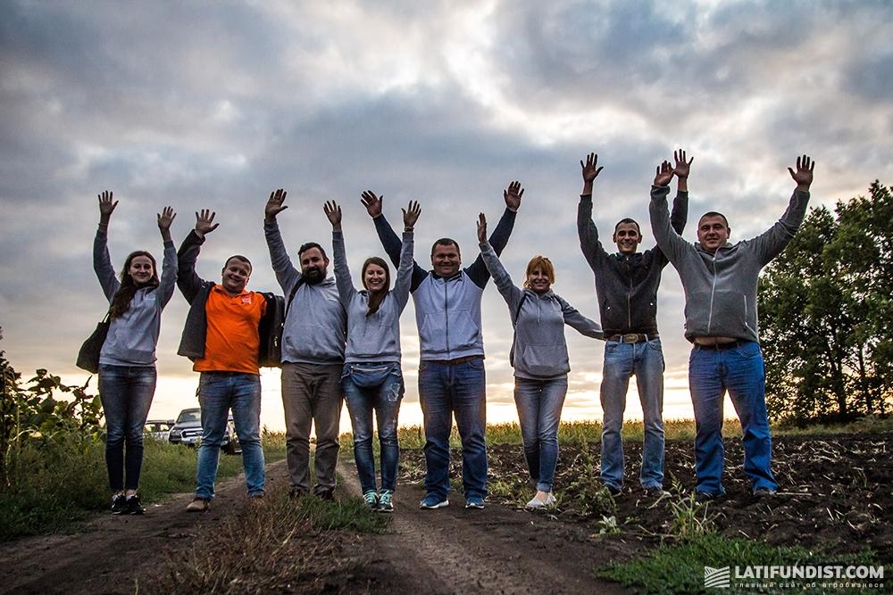 АгроЭкспедиторы в поле агропредприятия «Им. Ульянова»