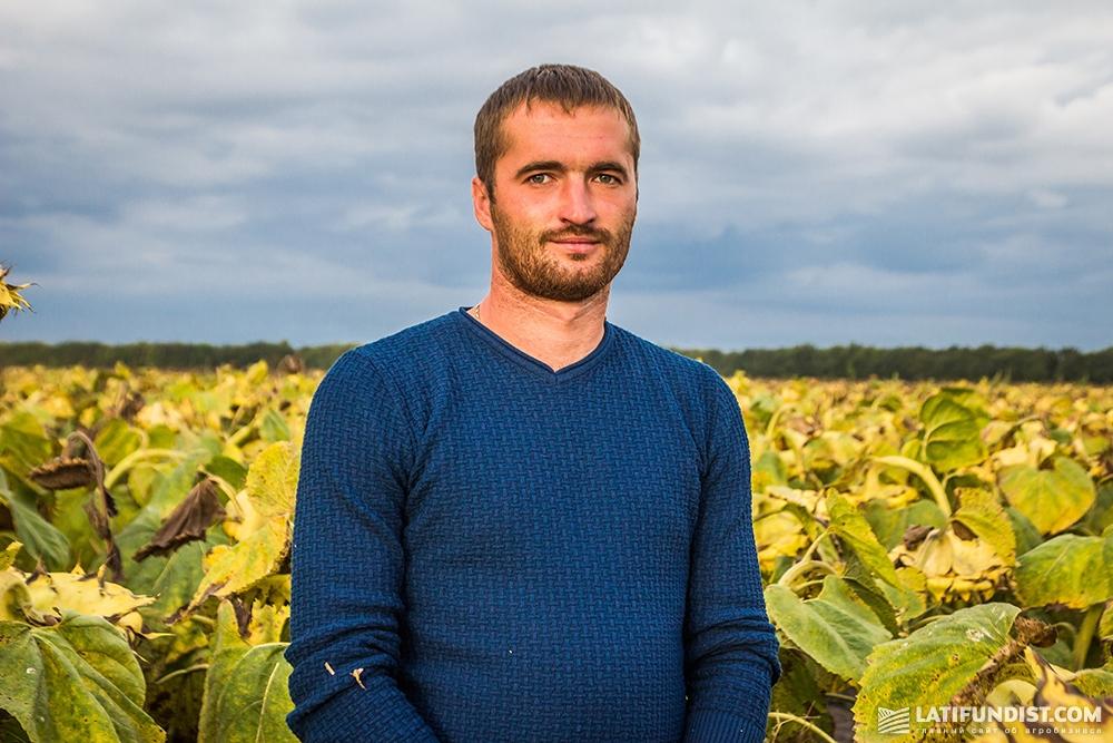 Александр Левчик, главный агроном предприятия «Воля»