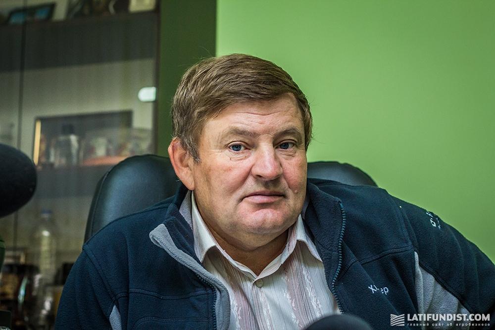 Владимир Гловинковский, главный агроном предприятия «Земля Переяславщины»