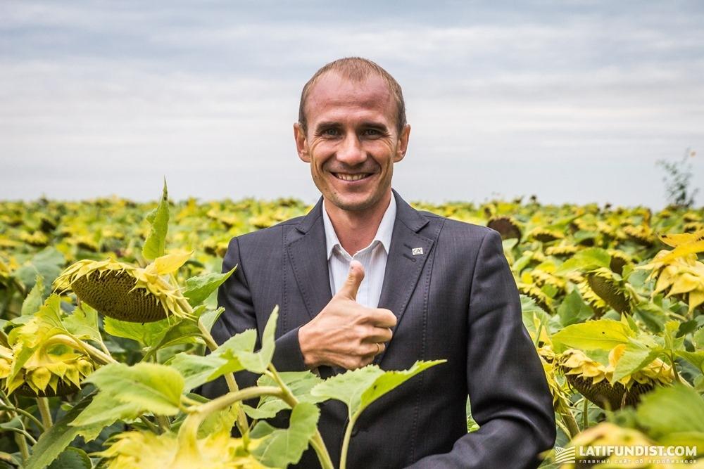 Михаил Шамрай, управляющий отделением Credit Agricole в Переяслав-Хмельницком