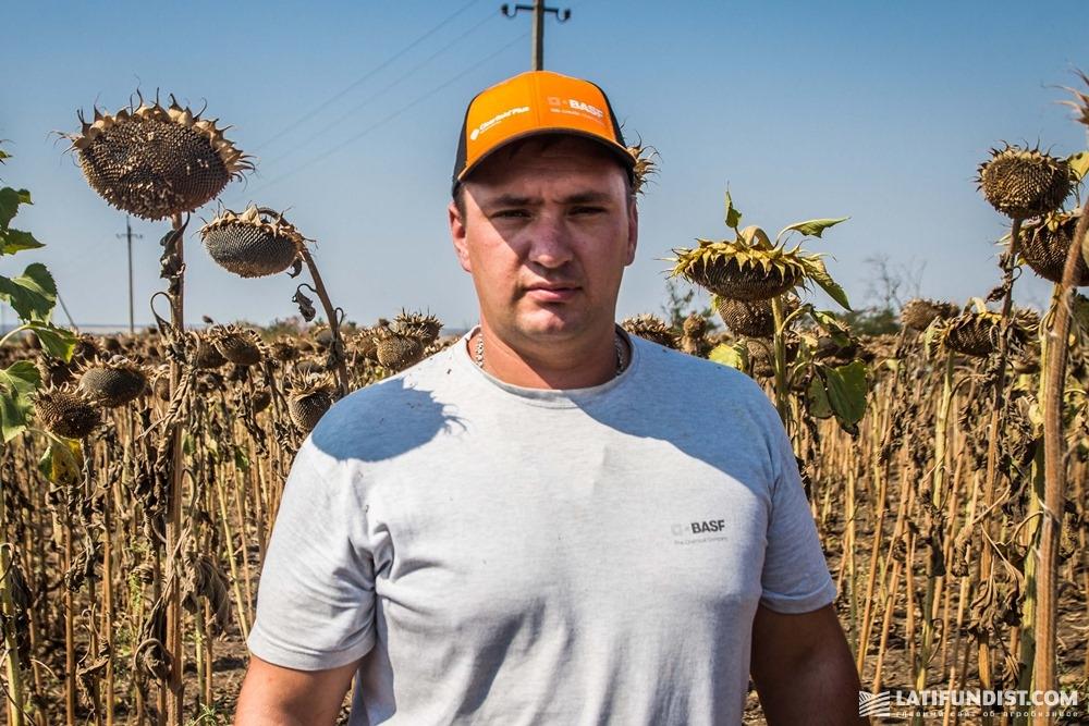 Михаил Петращук, ведущий агроном «Запорожье-Агро»