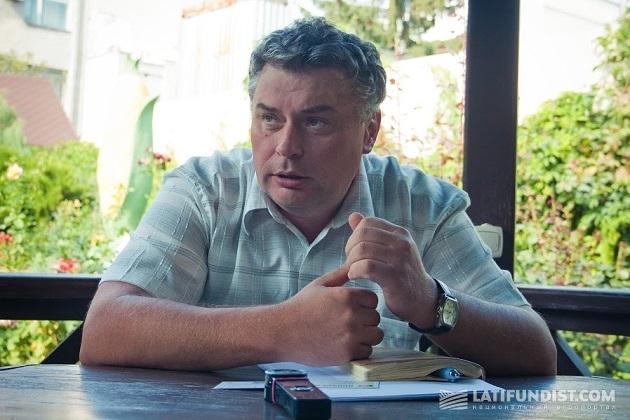 Главный агроном хозяйства «Урожай» Вячеслав Черкащенко