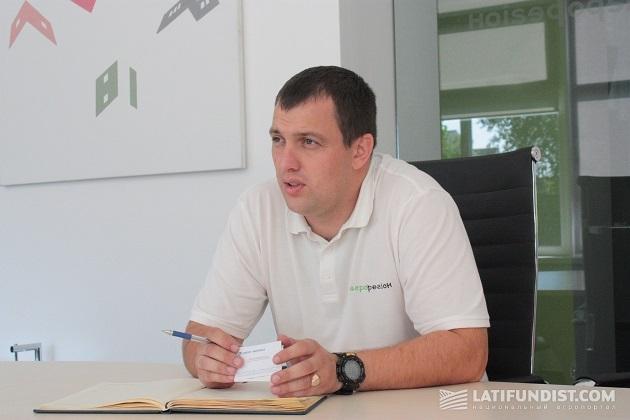Директор Бориспольского подразделения предприятия «Агро-регион» Олег Пащенко