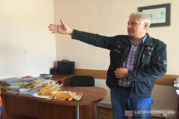 Главный агроном предприятия «Зерновой альянс - Барышевская зерновая компания» Олег Коваль