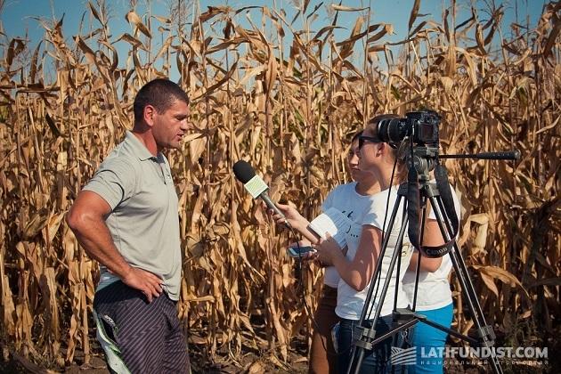 Беседуем с руководителем ФХ «Колос» Андреем Бибой
