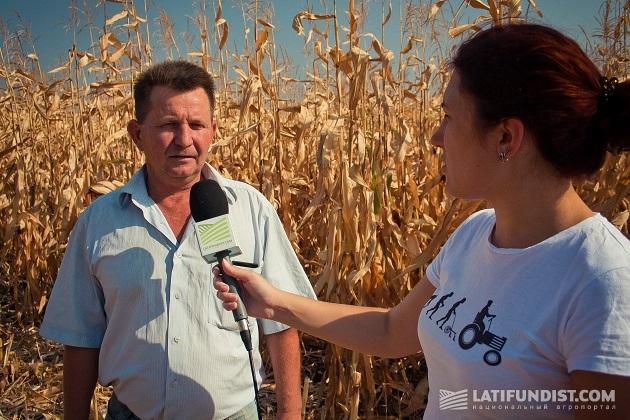 Беседуем с главным агрономом ФХ «Перспектива» Василием Шевченко