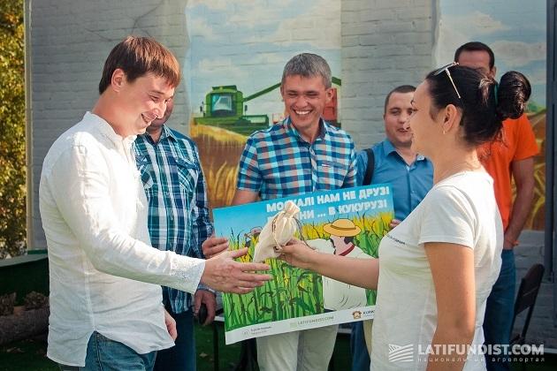 На память об АгроЭкспедиции по кукурузе