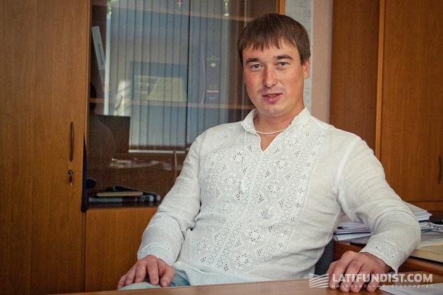 Директор «Бурат-Агро» Михаил Петров