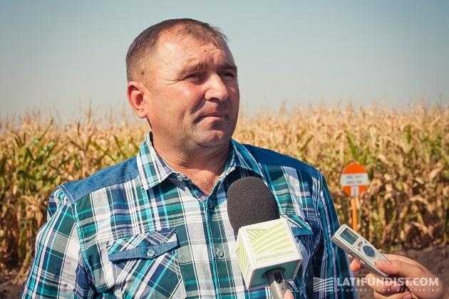 Главный агроном Александр Юшко