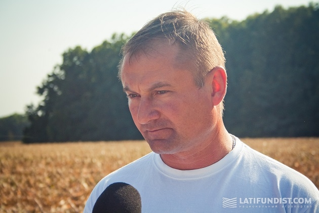 Главный агроном компании «Скиф» Василий Кривобок