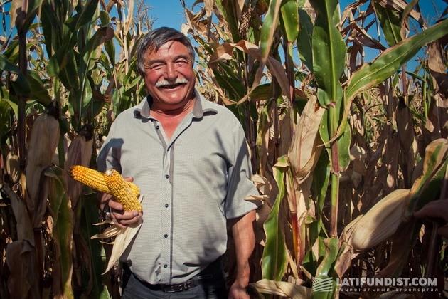 Василий Лученко, главный агроном агропредприятия «Шалыгинское»