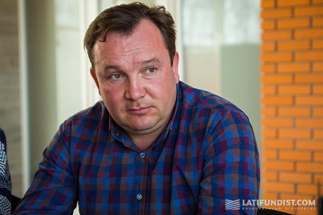 Основатель компании «Волынь-Зерно-Продукт» Евгений Дудка