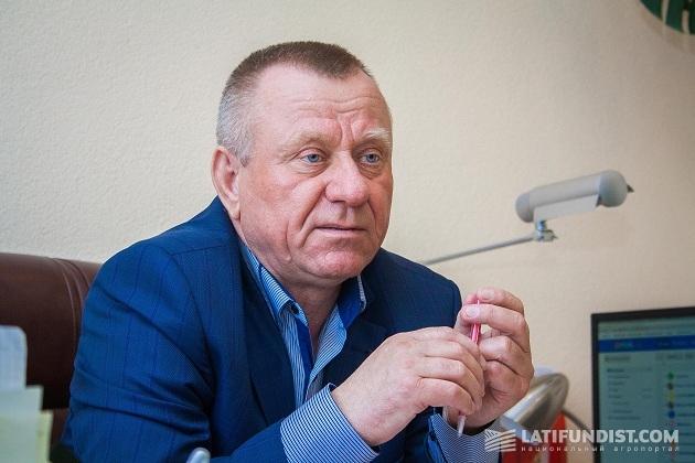 Глава хозяйства «Перлина Турии» Владимир Яренчук