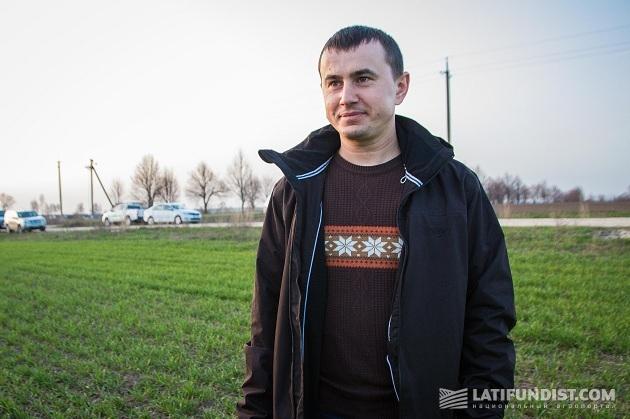 Главный агроном «Волынь-Зерно-Продукт» Ярослав Мазурок