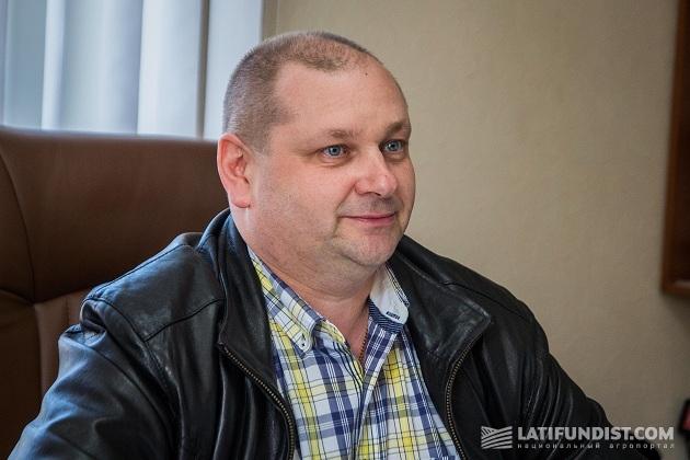 Директор агропредприятия «Заря Подолья» Андрей Шелестюк