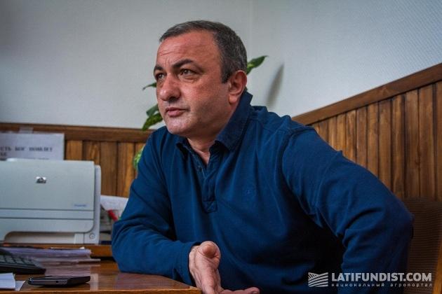 Директор предприятия «Дружба» Армен Налбалдян