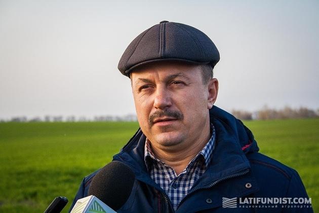 Заместитель гендиректора «Полтавазернопродукт» Сергей Шишацкий