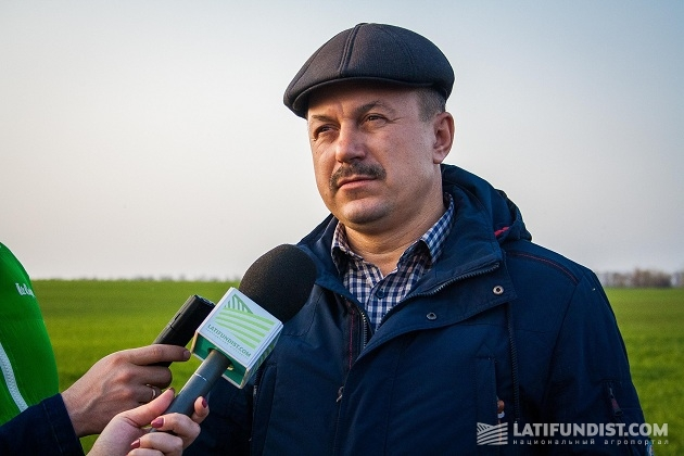 Заместитель генерального директора ИПК «Полтавазернопродукт» Сергей Шишацкий