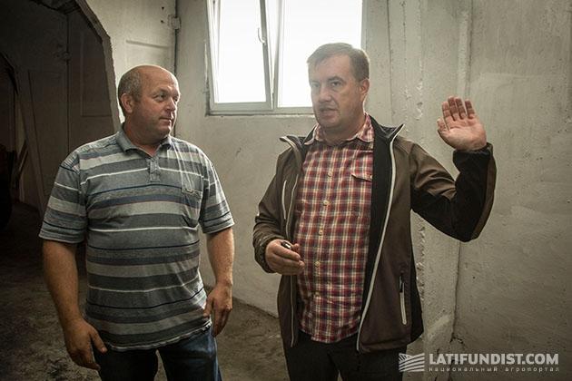 Василий Никоненко и Сергей Мотренко